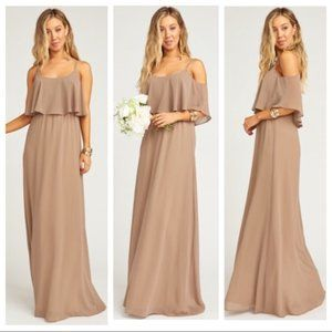 Show Me Your Mumu Caitlin Ruffle Bridesmaids Dress